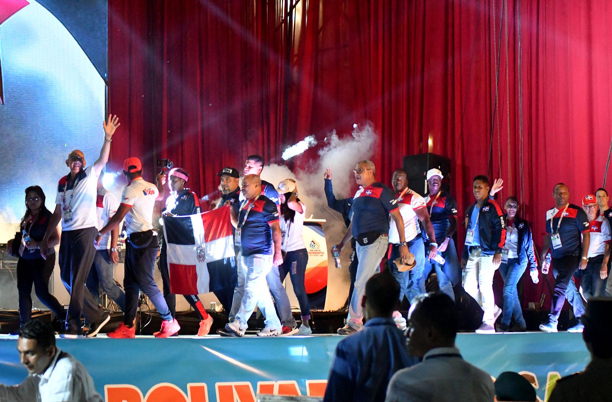 Delegación RD toma parte en ceremonia clausura Bolivarianos