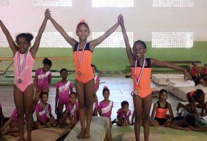 Infantiles Griffin, Guerrero y Soto sobresalen en torneo gymnasia Agisapema
