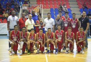 Distrito Nacional, campeón torneo basket masculino U-14