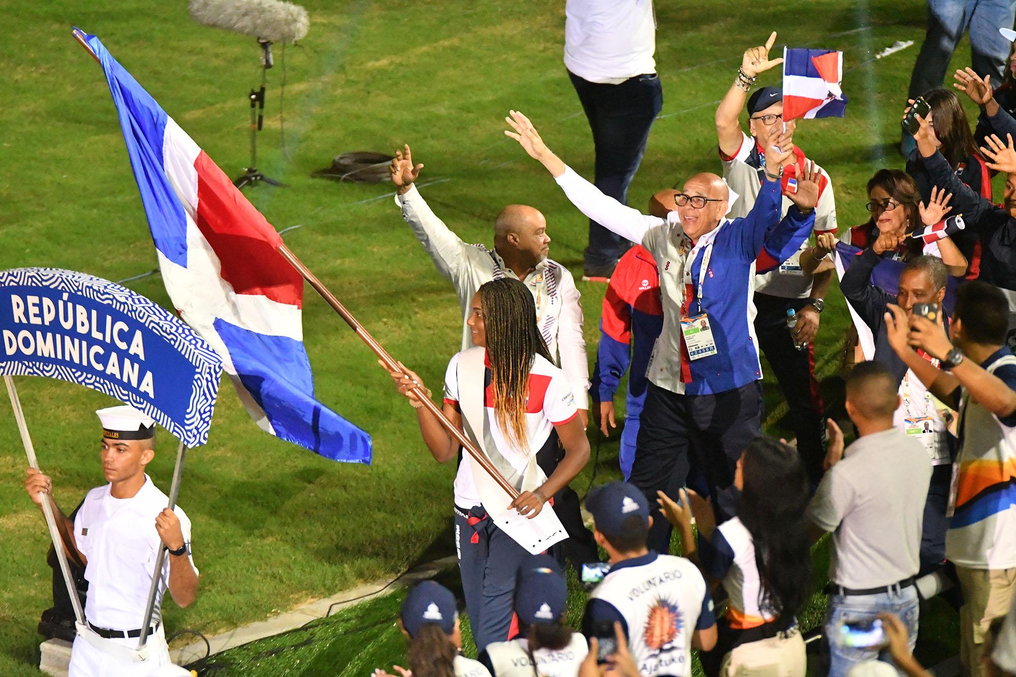 Delegación RD desfila en vistosa ceremonia Juegos Bolivarianos