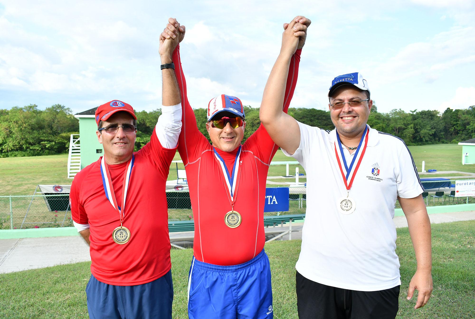 Equipo fosa, oro en clasificatorio tiro al plato Barranquilla 2018