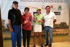 Fedogolf realiza premiación anual del Tour Nacional Juvenil