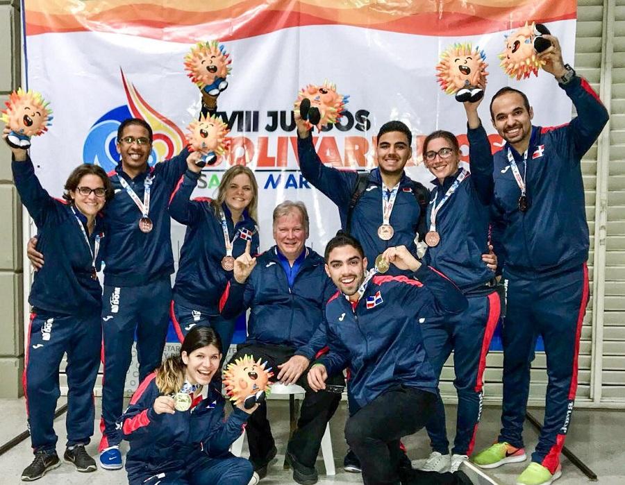 Boliche logró 8 medallas en Juegos Bolivarianos