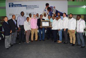 Fedojudo distingue al Club Deportiva Naco en apertura torneo superior