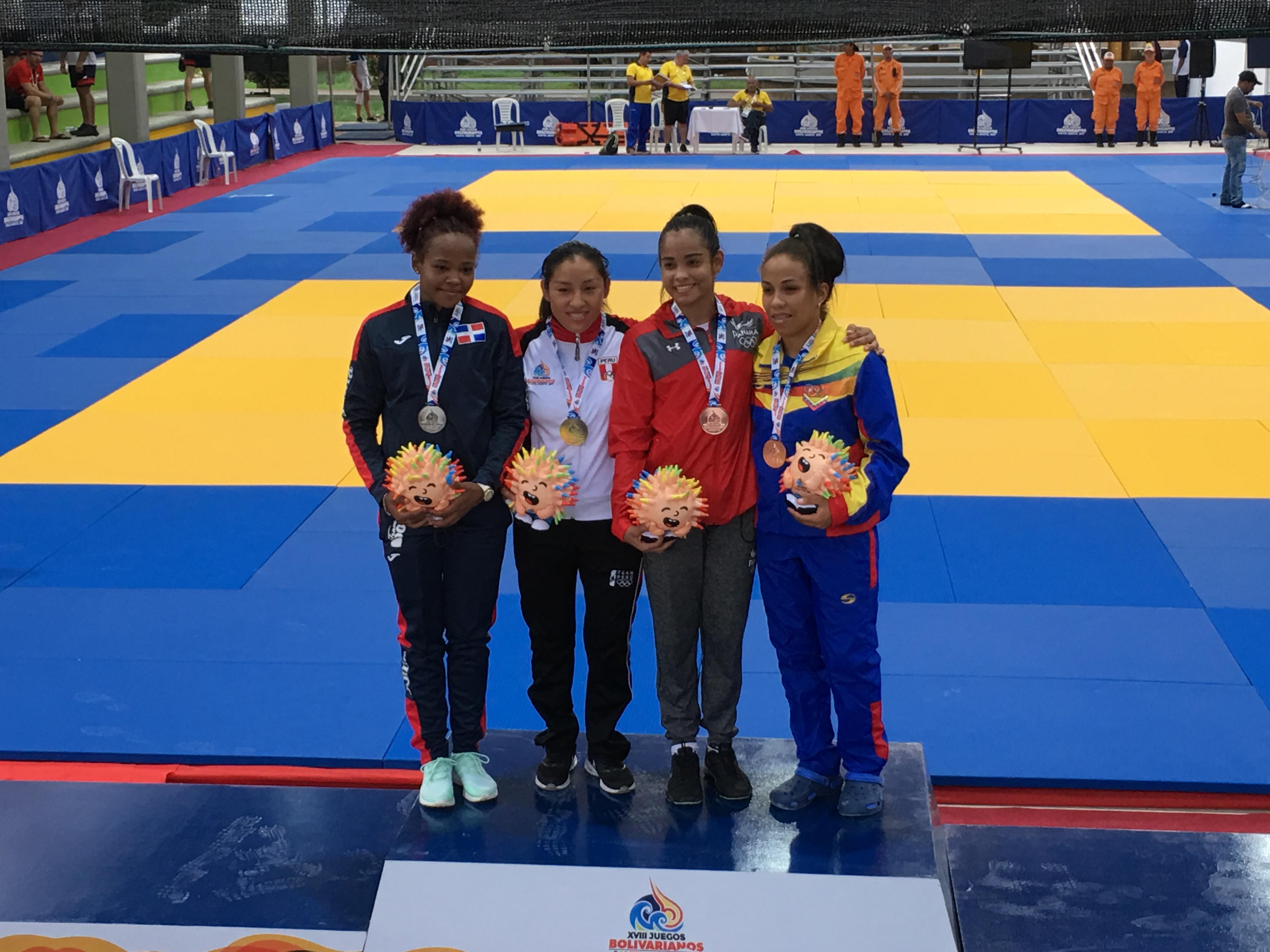 Judocas Diana y Rosa se quedan con sendas medallas de plata