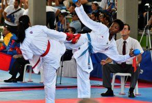 Pamela gana plata; Pérez, Andújar y Castillo, bronce en karate