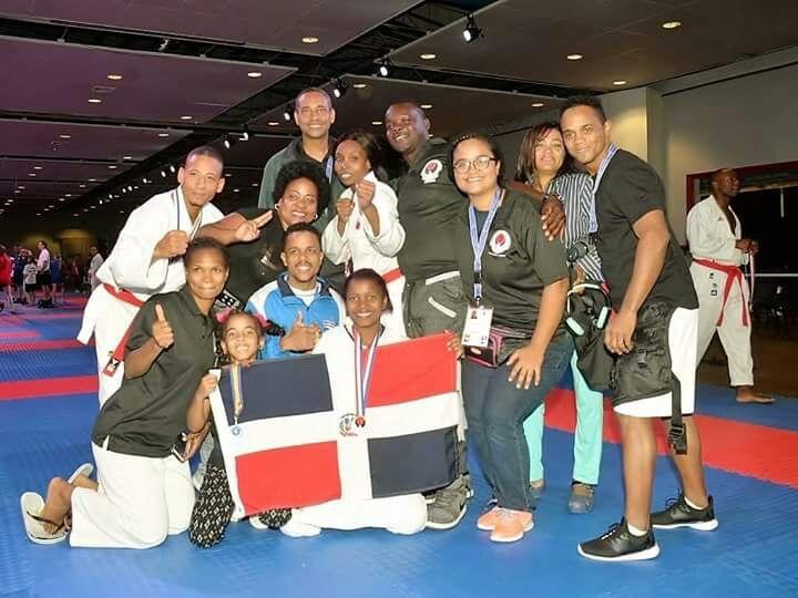 Dominicana gana 3 medallas de plata y 9 de bronce en Mundial de Kárate