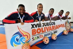 RD ocupa séptimo lugar con 68 medallas en Bolivarianos
