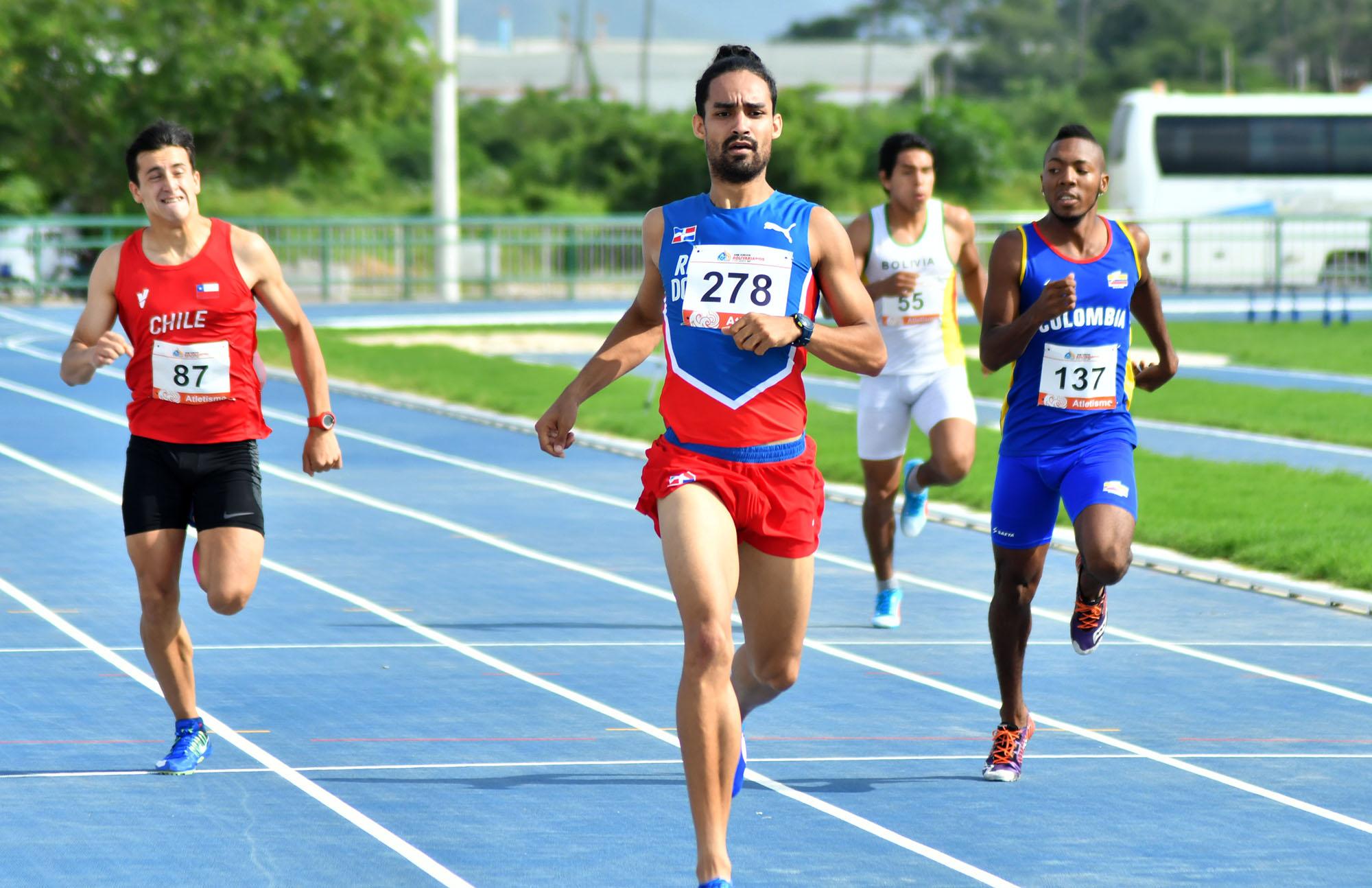Luguelin y Mariely clasifican a la final atletismo Bolivarianos