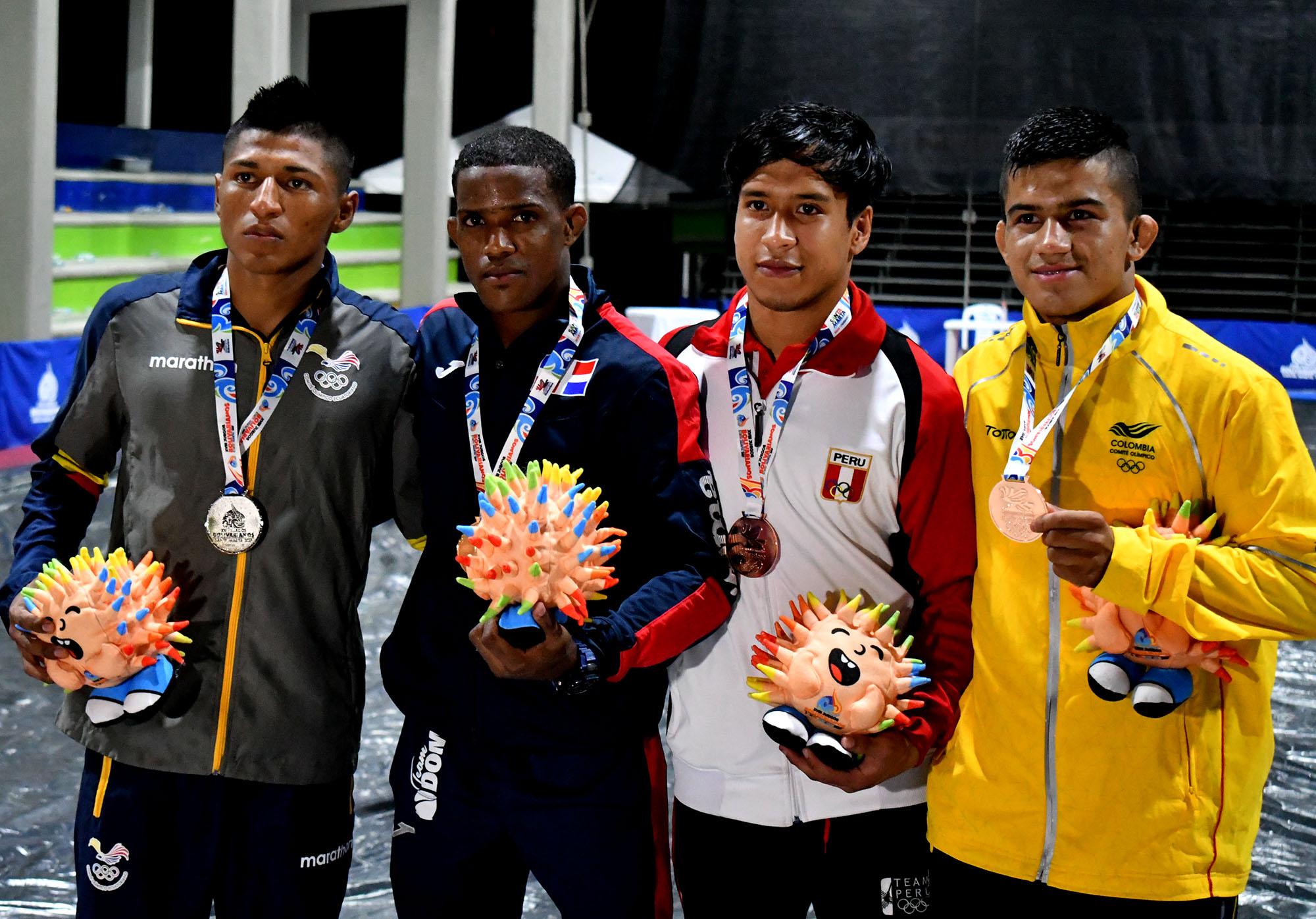 Castro se hace del oro y Ramírez del bronce en judo Bolivarianos