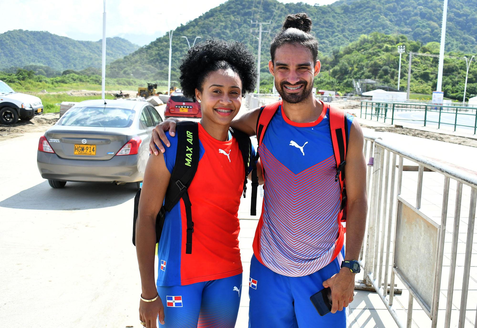 Santos, Sánchez y Tima, en carrera del atletismo por más medallas