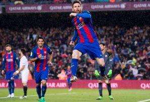 El Barcelona ganó en el partido 600 de Leo Messi; Valencia golea al Leganés