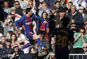 Messi y el Barcelona le ganan duelo a Cristiano y al Madrid