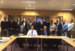 Persio Maldonado se reúne con presidente de la ITF