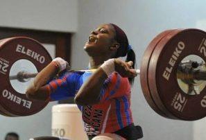 Crismery Santana, plata y dos bronces en campeonato mundial pesas