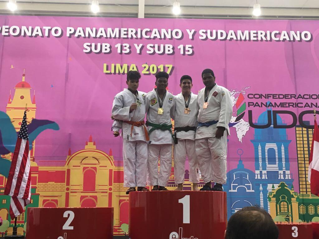 Infantil Gabriel Marte gana dos bronces en Panamericano Judo
