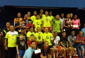San Pedro de Macorís, campeón absoluto nacional superior tenis de mesa