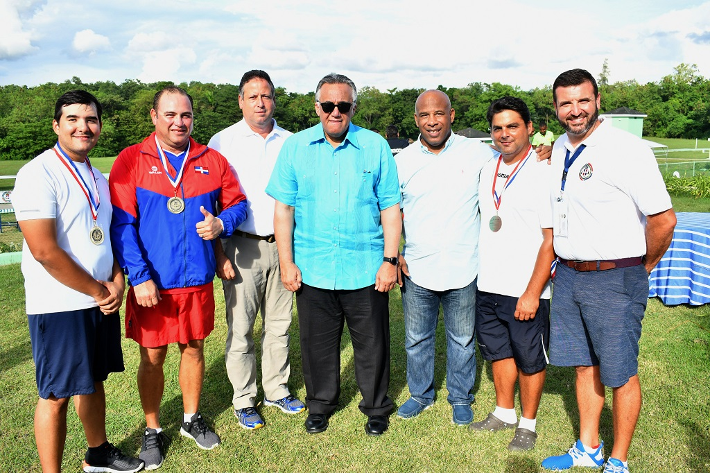 Equipo skeet RD, oro y bronce individual clasificatorio tiro al plato Barranquilla 2018