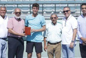"""José """"Bebo"""" Hernández, campeón del Futuro F3; conquista su primer título de local"""