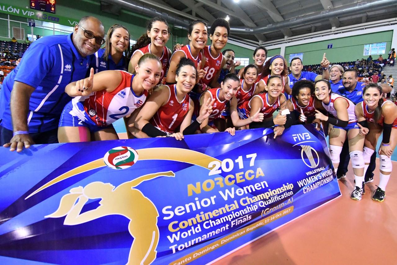 Sexteto RD logra pase al Mundial de Voleibol en Japón