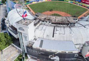 Calculan en 20 millones pérdidas por incendio en Estadio Quisqueya