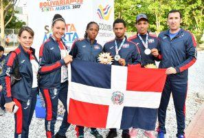 Racquetbol obtiene medalla de plata y bronce en dobles masculinos