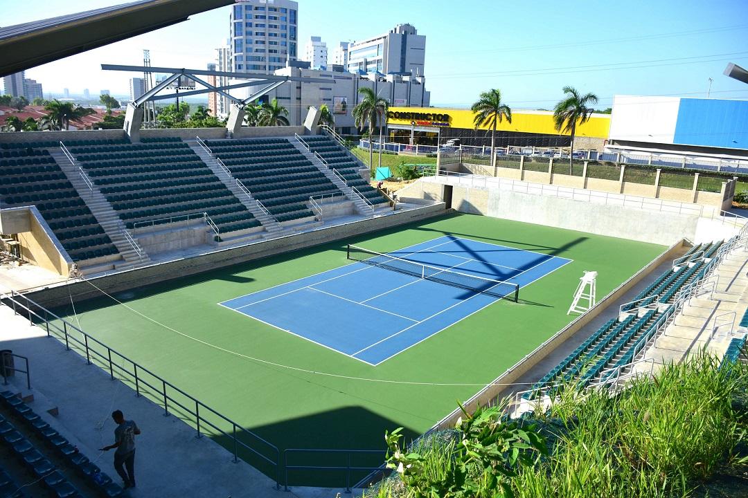 Inaugurarán cancha de tenis para Juegos Centroamericanos Barranquilla