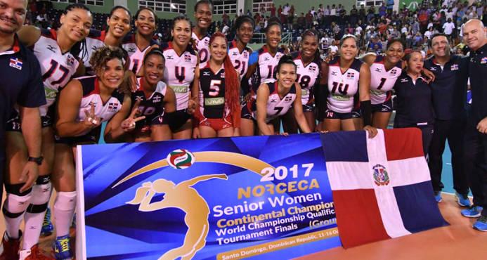 Las Reinas del Caribe obtienen el oro en clasificatorio mundial voleibol