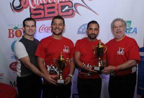Morin jr y  Gómez ganan el torneo de boliche en SBC