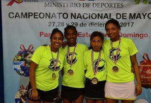 San Pedro y Santiago, campeones por equipo nacional superior tenis de mesa