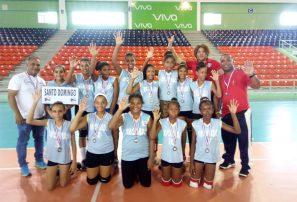 Provincia Santo Domingo se corona en convivio minivoli