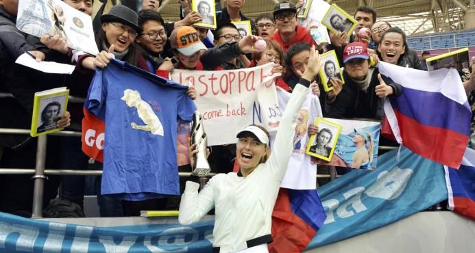 Sharapova gana primer titulo tras dopaje