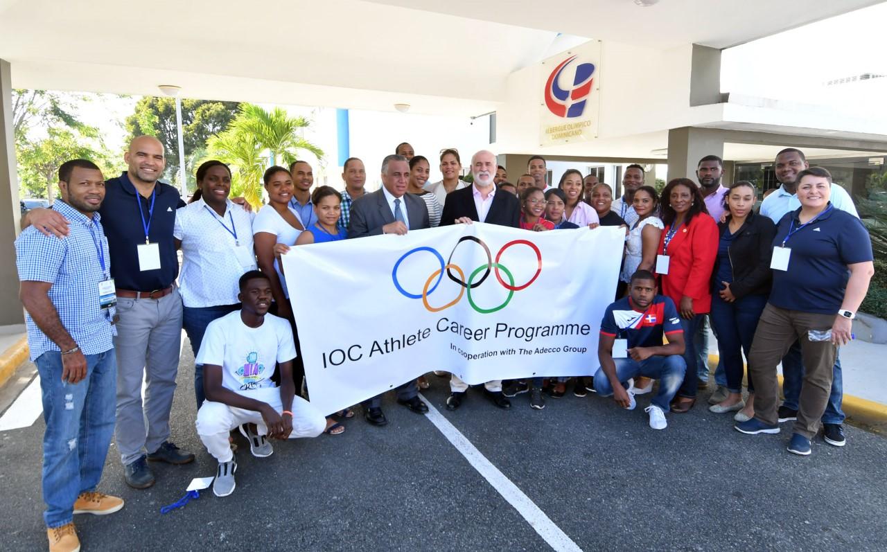 Solidaridad Olímpica de RD prepara a los atletas para cuando se retiren