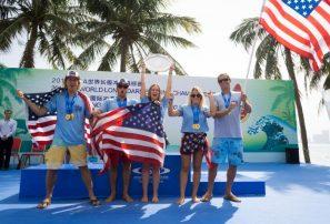 Estados Unidos, campeón del ISA World Longboard Surfing Championship