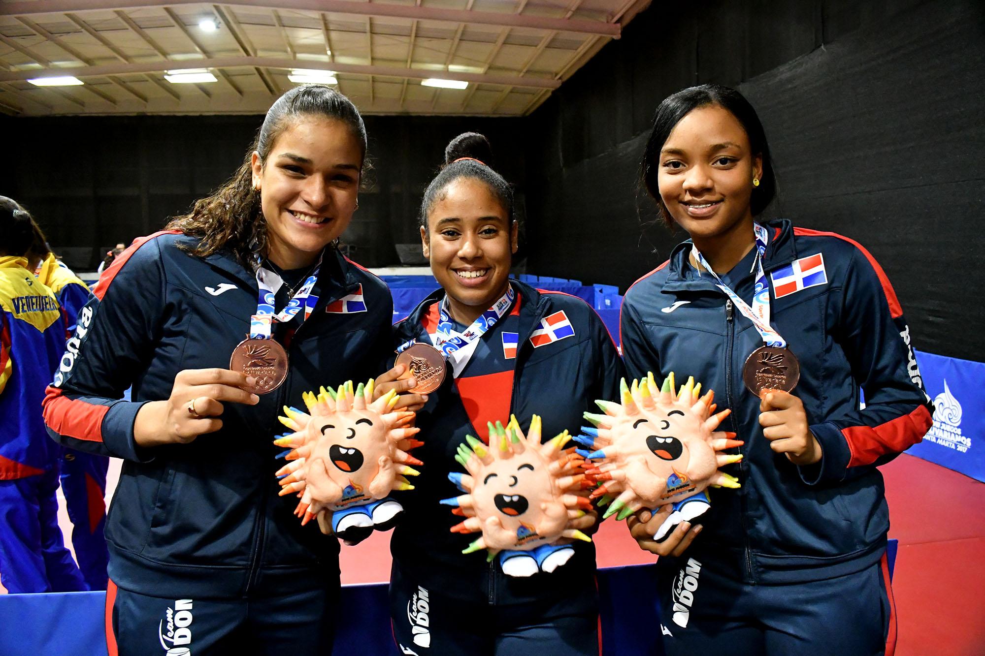Tenis de Mesa gana bronce por equipo femenino en Bolivarianos