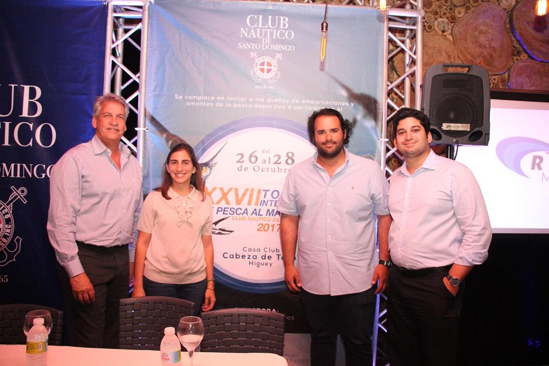 Náutico de Santo Domingo anuncia torneo al Marlin Azul 2017