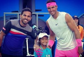 Estrella agradecido por haber enfrentado a Rafael Nadal