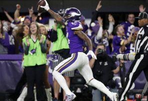 Vikings le ganan dramático partido a los Saints