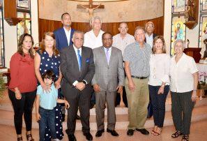 Resaltan méritos de Wiche García Saleta en misa aniversario fallecimiento