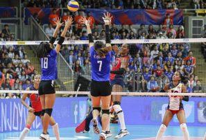 Sexteto superior RD barre a Thailandia en Liga Naciones Voleibol