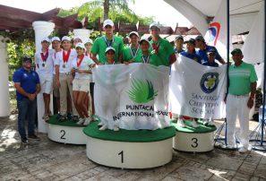 Punta Cana Internacional School campeón del primer Intercolegial Nacional de Golf