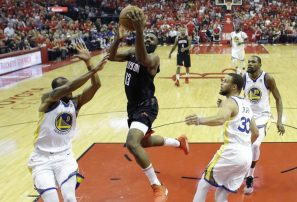 Houston empata 1-1 su serie contra los Warriors