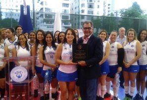 Club Naco inaugura torneo voleibol empresarial femenino
