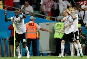 Alemania derrota a Suecia y sigue con vida en el Mundial