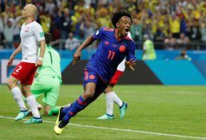 Colombia golea a Polonia y se mantiene con vida en Mundial