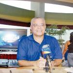 Santana Martínez - HR Mannny Ramirez con Las Aguilas (La puso amarillita, que golpé)
