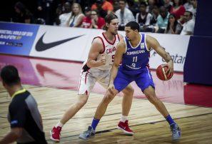 Selección basket RD no pudo frenar la ofensiva de Canadá
