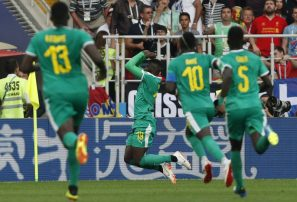 Senegal vence 2-1 a Polonia; primera victoria africana en Rusia