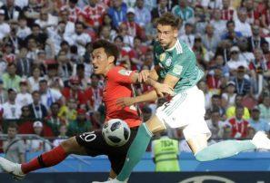 Alemania queda eliminada del Mundial de Fútbol