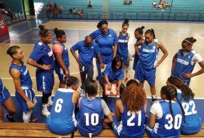 Selección femenina de basket derrota a anfitrión Surinam